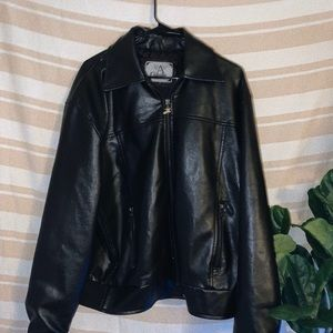 Other - vintage leather jacket from early 2000's